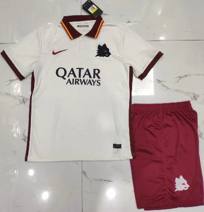 AS Roma 20/21 Away Soccer Jersey and Short Kit