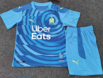 Olympique Marseille 20/21 Kids Third Soccer Jersey and Short Kit