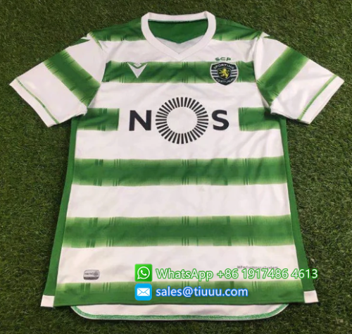 Thai Version Sporting Lisbon 20/21 Home Soccer Jersey