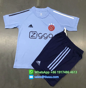 Ajax 20/21 Kids Training Jersey and Short Kit