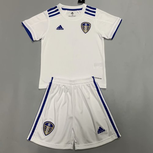 Leeds United 20/21 Kids Home Jersey Kit