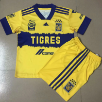 Tigres UANL 20/21 Home Soccer Jersey and Short Kit