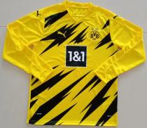 Thai Version Borussia Dortmund 20/21 LS Home Soccer Jersey