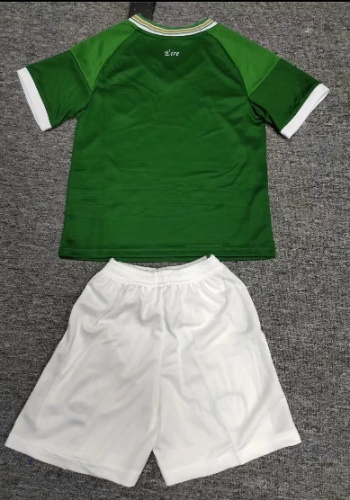 Ireland 2021 Kids Home Soccer Jersey and Short Kit