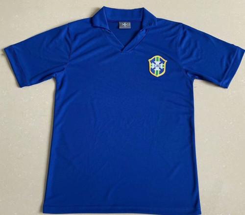 Brazil 1958 World Cup Away Retro Jersey