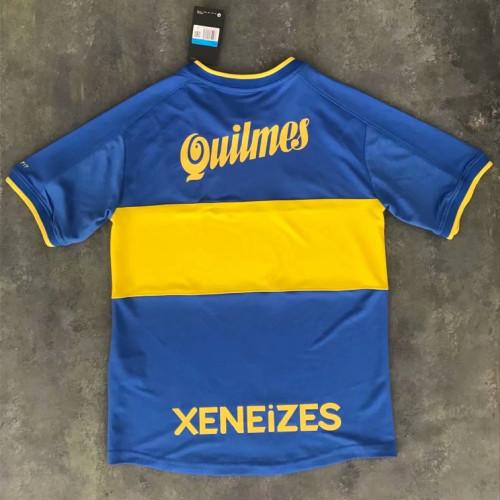 Boca Juniors 2000-2001 Home Retro Jersey