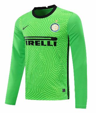 Thai Version Inter Milan 20/21 LS Goalkeeper Soccer Jersey - 003