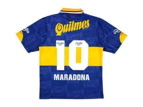 Boca Juniors 1995/1996 Home Retro Jersey Diego Maradona