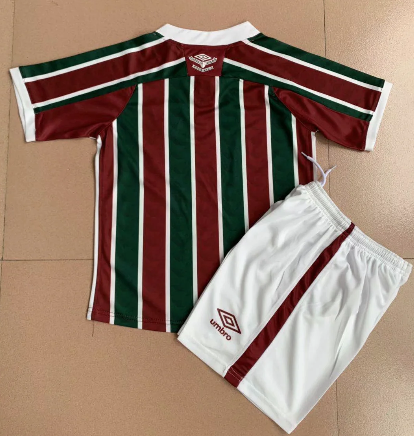 Fluminense 2020 Kids Home Soccer Jersey and Short Kit