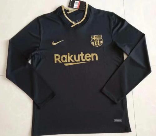 Thai Version Barcelona 20/21 LS Away Soccer Jersey