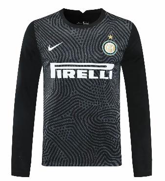 Thai Version Inter Milan 20/21 LS Goalkeeper Soccer Jersey - 002