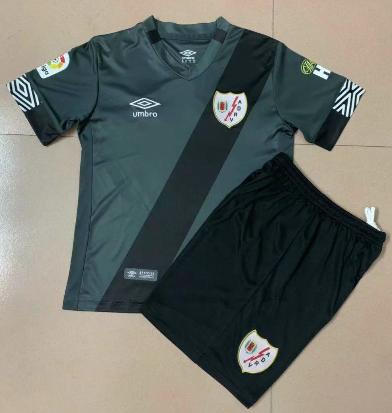 Rayo Vallecano 20/21 Kids Away Soccer Jersey and Short Kit