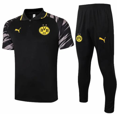 Borussia Dortmund 20/21 Training Jersey and Pants-C572