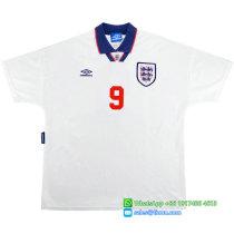 England 1993-94 Shearer Home Retro Jersey