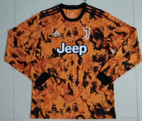 Thai Version Juventus 20/21Third LS Soccer Jersey