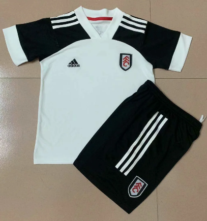 Fulham 20/21 Kids Home Soccer Jersey and Short Kit