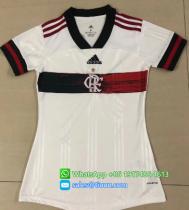 Thai Version Flamengo 2020 Away Women's Soccer Jersey