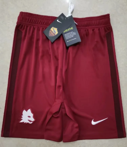 Thai Version AS Roma 20/21 Away Soccer Shorts