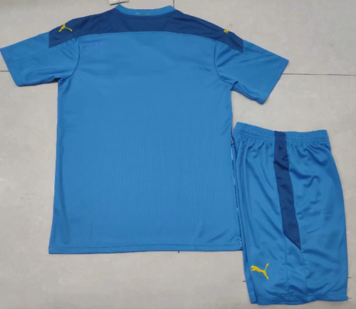 Olympique Marseille 20/21 Third Soccer Jersey and Short Kit