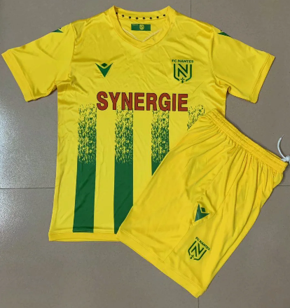 FC Nantes 20/21 Home Soccer Jersey and Short Kit