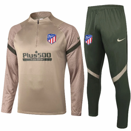 Atletico Madrid 20/21 Soccer Training Top and Pants - B443