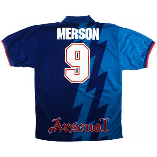 ARS 1995-1996 Away Retro Jersey #9 Merson