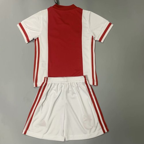 Ajax 20/21 Kids Home Soccer Jersey and Short Kit