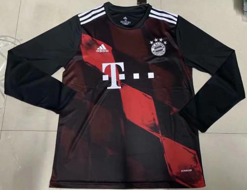 Thai Version Bayern Munich 20/21Third LS Soccer Jersey