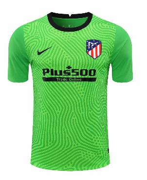 Thai Version Atletico Madrid 20/21 Goalkeeper Soccer Jersey