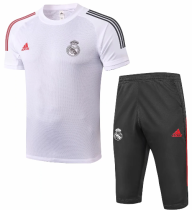 Real Madrid 20/21 Training Jersey and Short Kit - White
