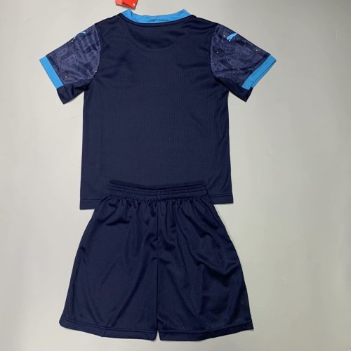 Olympique Marseille 20/21 Kids Away Soccer Jersey and Short Kit