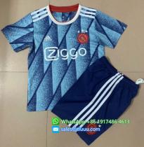 Ajax 20/21 Away Soccer Jersey and Short Kit