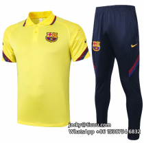 Barcelona 20/21 Polo and Pants - C490