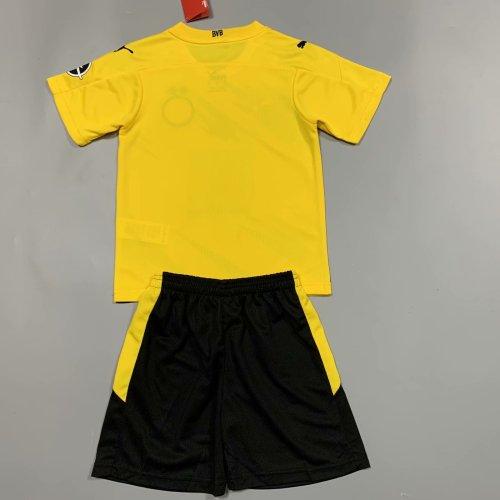 Borussia Dortmund 20/21 Kids Home Soccer Jersey and Short Kit