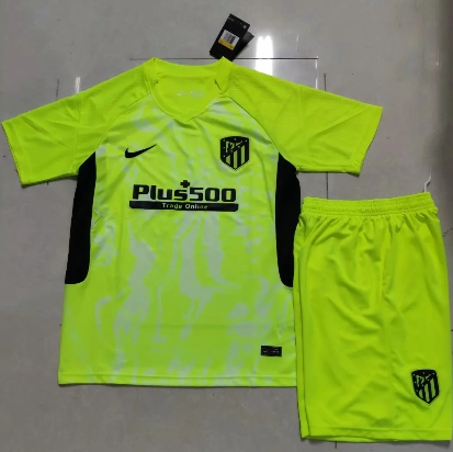 Atletico Madrid 20/21 Third Soccer Jersey and Short Kit