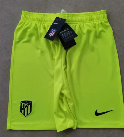 Thai Version Atletico Madrid 20/21 Third Soccer Shorts