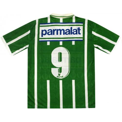 Palmeiras 1993-1994 Home Retro Jersey #9 Evair