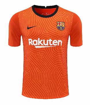 Thai Version Barcelona 20/21 Goalkeeper Soccer Jersey