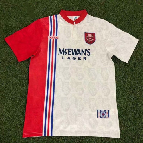 Rangers 1996/97 Away Retro Jersey 27#