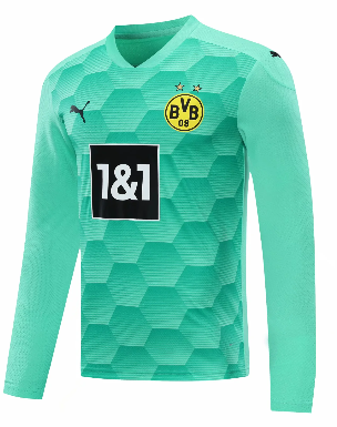 Thai Version Borussia Dortmund 20/21 Goalkeeper LS Soccer Jersey - 001