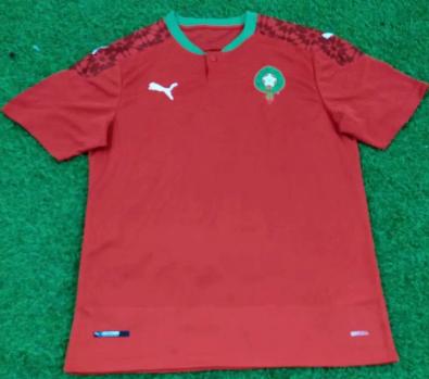 Thai Version MOROCCO 20/21 Home Soccer Jersey