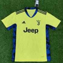 Thai Version Juventus 20/21 Goalkeeper Soccer Jersey-Green