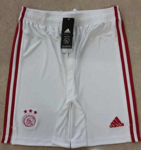 Thai Version Ajax 20/21 Home Soccer Shorts