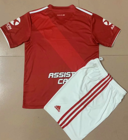 River Plate 2020 Kids Away Soccer Jersey and Short Kit