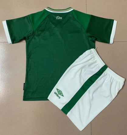 Ireland 2021 Home Soccer Jersey and Short Kit
