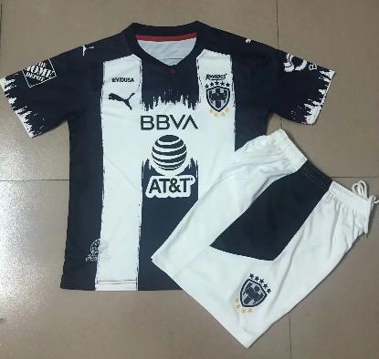 Monterrey 20/21 Kids Home Soccer Jersey and Short Kit