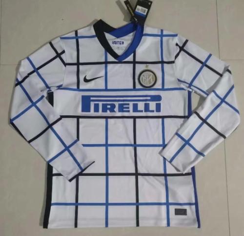 Thai Version Inter Milan 20/21 Away LS Soccer Jersey