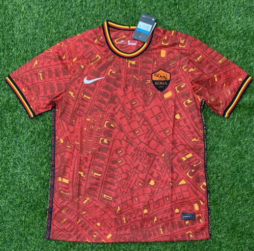 Thai Version AS Roma 20/21 Training Soccer Jersey