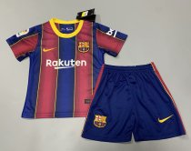 Barcelona 20/21 Kids Home Soccer Jersey and Short Kit