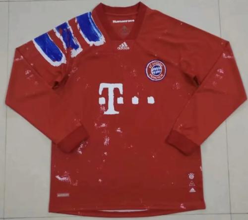 Thai Version Bayern Munich 20/21 Joint Edition LS Soccer Jersey